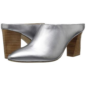 Brand - The Fix Women's Celeste Pointed-toe Block-heel Mule, pewter me...