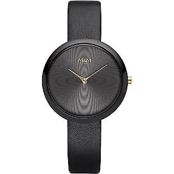 M & M Alemania M11944-487 Circle Line Reloj de damas