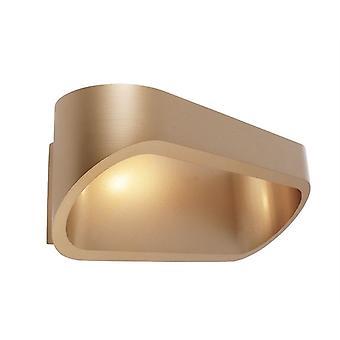 Lampe de construction de mur leD Elevato 5W 3000 K IP20 incl. alimentation en aluminium de laiton