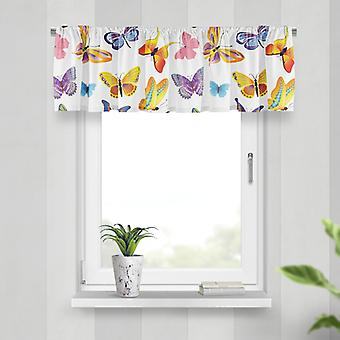 Meesoz Valance - Colorful Butterflies