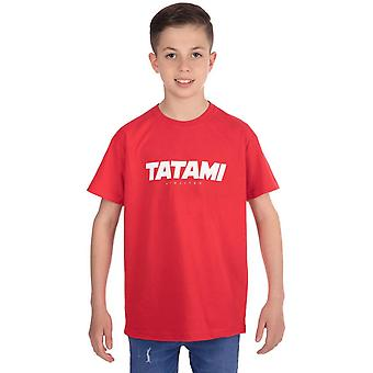 Tatami Fightwear Kid's Essential 2019 T-Shirt - Czerwony