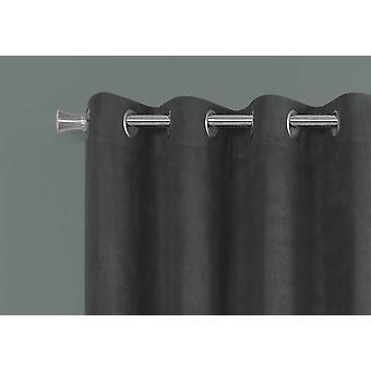 "54"" x 95"" Grey, Room Darkening - Curtain Panel 2pcs"