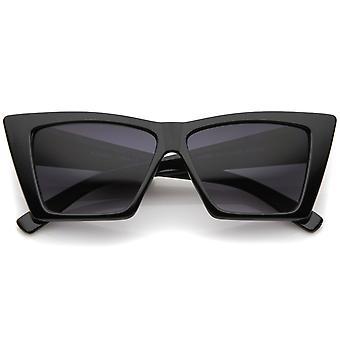 High Point geometrischen Rahmen Platz Objektiv Cat Eye Sonnenbrille 58mm