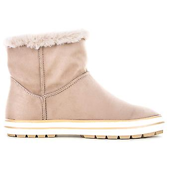 Seven Dials Womens tess Faux Fur Closed Toe Ankle Fashion Boots