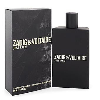 Just rock eau de toilette spray door zadig & voltaire 548585 100 ml