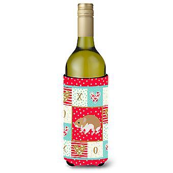 Carolines Treasures  CK5445LITERK Turkish Hamster Love Wine Bottle Hugger