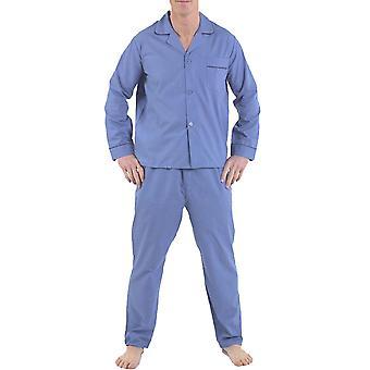 Novo mens Harvey James Algodão-Poly Pyjama pijama desgaste salão