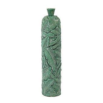 Light & Living Vase Deco 17x73.5cm Lavero Ceramics Green