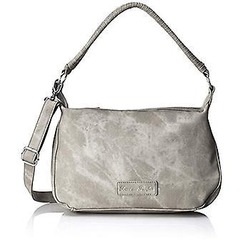 Fritzi aus Preussen Odetta - Donna Grau Shoulder Bags (Metal) 11x21x32cm (B x H T)