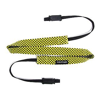 Crumpler Check Camera Strap cameo grey/ yellow lemon