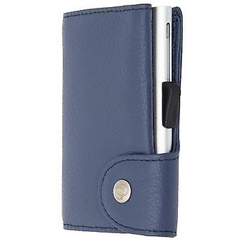 C-Secure Single Card Holder Wallet - Orchidea Pink