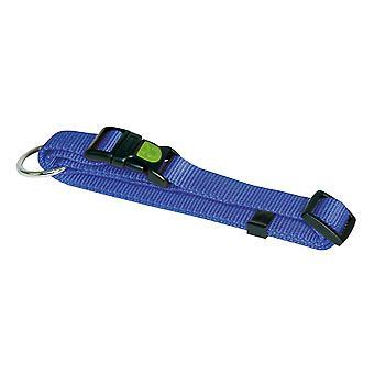 Kerbl Miami Nylon krage justerbar bredd blå