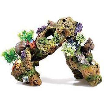 Klassiker för husdjur Lava Rock växt luftgränser 320mm (fisk, dekoration, prydnadsföremål)