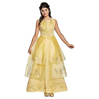 Krása a zviera Belle šaty pre dospelých