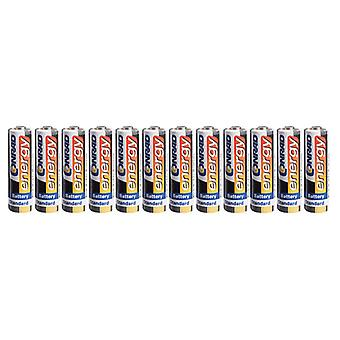 Conrad Energy 650619 Zinc Carbon AA Battery (Pack of 12)