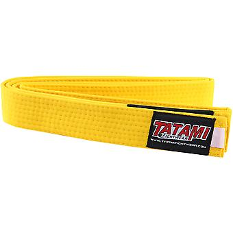 Tatami Fightwear Kids BJJ Rank Belt - Yellow