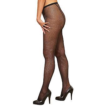 Sexy Plus Size Back Seam Fishnet Pantyhose