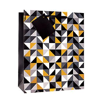 Simon Elvin Contemporary Foil Gift Bags (Pack Of 6)