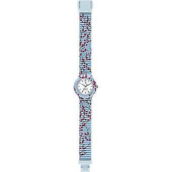 Hip Hop Analog quartz ladies Silicone wrist watch HWU0865