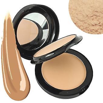 Technic Colour Fix 2 In 1 Pressed Powder & Cream Foundation ~ Buff