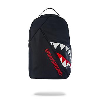 Sprayground Angled Ghost Shark Noir