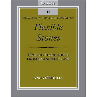 Fleksible stengrund stenværk tøjer fra franchise-hule fascicle 14 udgravninger på franchise-hulen Grækenland af Stroulia & Anna