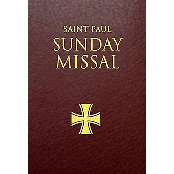 Saint Paul Sunday Missal - Burgundy Leatherflex by Daughters of St Pau