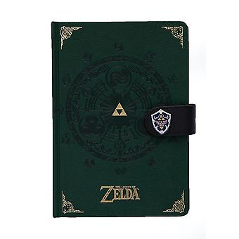 Zelda-Notebook, Green