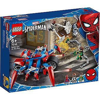 Lego 76148 Lego Super Heroes Spiderman Bike Rakentaminen Playset