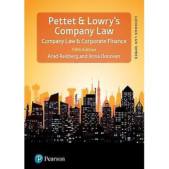 Pettet - Lowry & Reisberg's Company Law - 5th edition by Arad Rei