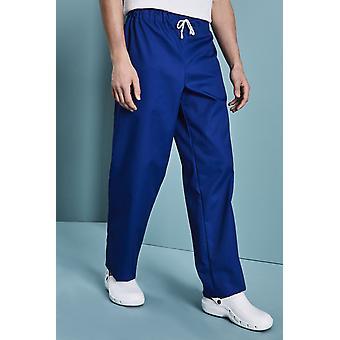SIMON JERSEY Unisex Smart Scrub Trousers, Royal Blue