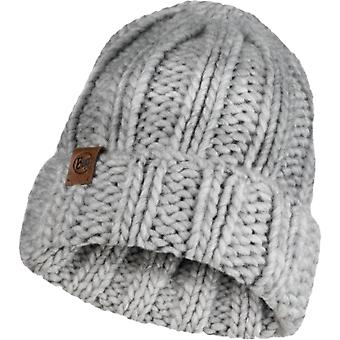 Buff Knitted Hat Vanya Melange Grey