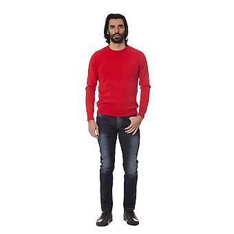 Rich John Richmond Red Sweater -- RI81527792
