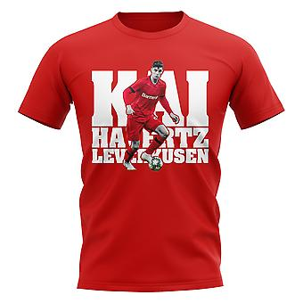 Kai Havertz Leverkusen Player T-Shirt (Red)