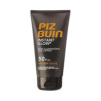 Sun Block Instant Glow Piz Buin SPF 50 (150 ml)