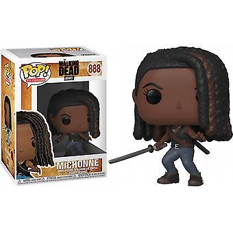 Kävelevä kuollut Michonne Pop! Vinyyli