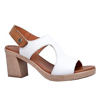 Paula Urban Coral Womens HIgh Heeled Sandals