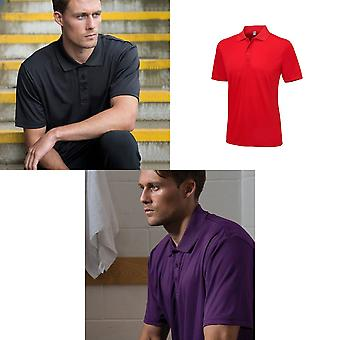 AWDis Cool juste lisse Mens Polo manches courtes