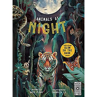 Glow in the Dark - Animals at Night by Cornelia Li - 9781786035394 Book