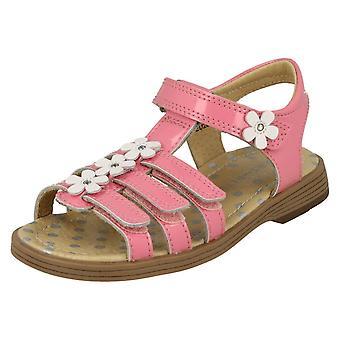 Girls Startrite Flower Detailed Sandals Picnic