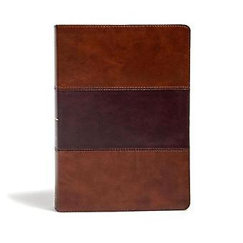 KJV Super Giant Print Reference Bible - Saddle Brown LeatherTouch by