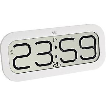 TFA Dostmann 60.4514.02 Radio Wall clock 28 mm x 321 mm x 140 mm White