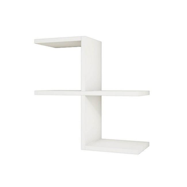 Swan White Mend en puce melaminique, PVC 50x22x50 cm