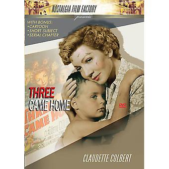 Three Came Home [DVD] USA import