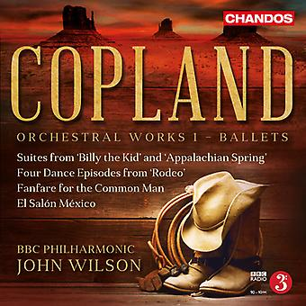 Copland / BBC Philharmonic Orchestra / Wilson - Orchestral Works 1 [SACD] USA import
