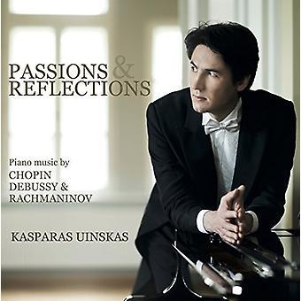 Kasparas Uinskas - Passions & Reflections [CD] USA import