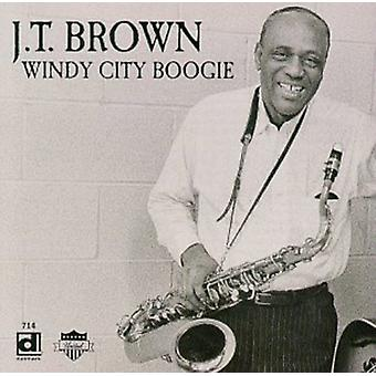 J.T. Brown - importation USA Windy City Boogie [CD]