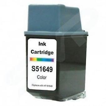 החלפת RudyTwos עבור HP 45 מחסנית דיו Tri-צבע (CyanYellow & מגנטה) תואם עם מכונת צילום בצבע 180, 190, 280, 290, Deskjet 1180c, 1220c, 1220c, 1280, 6120, 6122, 6127, 9300, 930c, 930c, 9