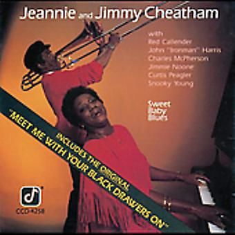 Jeannie Cheatham & Jimmy - Sweet Baby Blues [CD] USA import