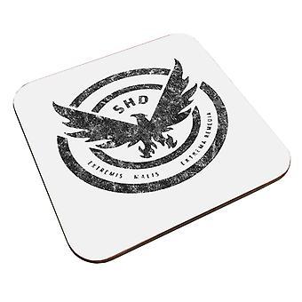Tom Clancy Distressed Black Logo Untersetzer
